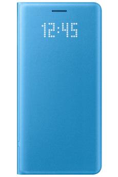 Housse et étui pour téléphone mobile ETUI LED VIEW COVER BLEU POUR SAMSUNG GALAXY NOTE 7 Samsung