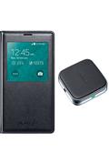 Samsung Etui S View Cover avec chargeur à induction pour Galaxy s5