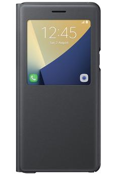 Housse et étui pour téléphone mobile ETUI S VIEW COVER NOIR POUR SAMSUNG GALAXY NOTE 7 Samsung