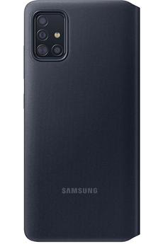 Coque smartphone Samsung Etui S View Wallet A51 Noir