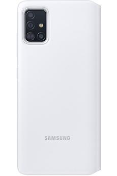 Coque smartphone Samsung Etui S View Wallet A51 Blanc
