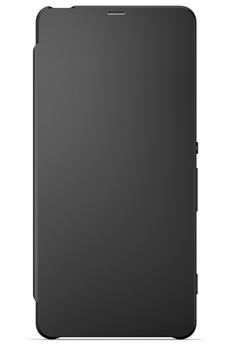 Housse et étui pour téléphone mobile ETUI FLIP COVER NOIR POUR SONY XPERIA X Sony