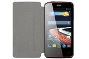 Swiss Charger Etui Folio Noir pour Acer Liquid Z4 Duo