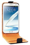 Housse et étui pour téléphone mobile Swiss Charger ETUI FLIP GALAXY NOTE II