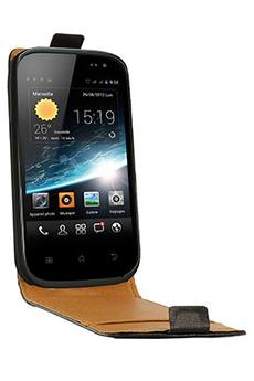 Housse et étui pour téléphone mobile ETUI WIKO CINK SLIM Swiss Charger