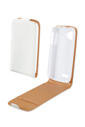 Swiss Charger ETUI WIKO CINK SLIM BLANC