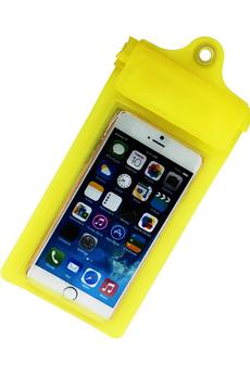 Housse et étui pour téléphone mobile ETUI WATERPROOF JAUNE Temium