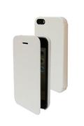 Temium ETUI FOLIO POUR IPHONE 5/5S blanc