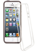 Temium Pack de 2 bumper Noir/Transparent iPhone 5/5S