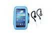 Housse et étui pour téléphone mobile Pack Brassard sport universel avec écouteurs Tnb