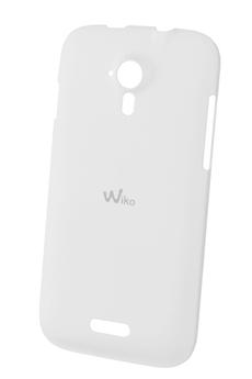 Housse et étui pour téléphone mobile COQUE CINK FIVE BLANC Wiko