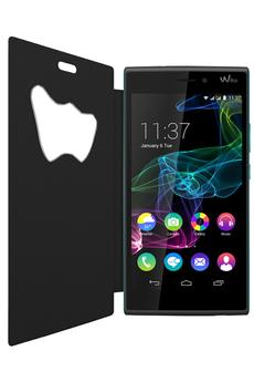 Housse et étui pour téléphone mobile ETUI FOLIO NOIR POUR WIKO RIDGE 4G Wiko