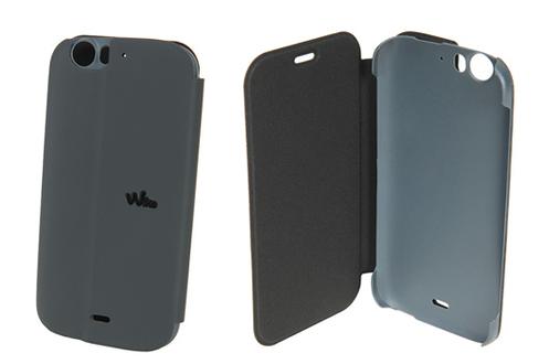 Pack smartphone wiko darkfull folio 3845745 for Housse telephone wiko