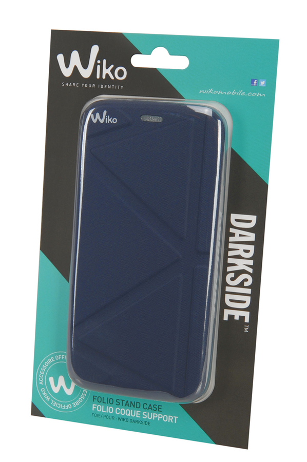 Housse et tui pour t l phone mobile wiko etui darkside for Housse telephone wiko