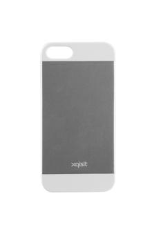 Housse pour iPhone COQUE METAL blanche pour Iphone 5/5s Xqisit