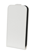 Housse et étui pour téléphone mobile Xqisit ETUI FLIP GALAXY S4 MINI BLANC