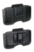 Housse et étui pour téléphone mobile Muvit Etui cuir clip ceinture