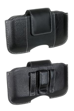 Coque smartphone Muvit Etui cuir clip ceinture   Darty a6552564a39