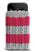 Housse et étui pour téléphone mobile Muvit Chaussette en laine