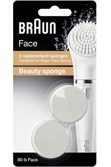 Accessoire beauté 80-B FACE ÉPONGE BEAUTÉ X2 Braun