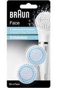 Accessoire beauté Braun BROSSE DE RECHANGE EXFOLIANTE 80-E X2 FACE