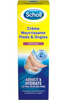 Accessoire beauté Crème hydratante pieds ongles Scholl
