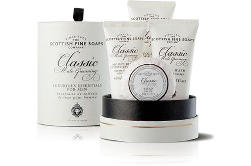 Scottish COFFRET LUXE CRÈME ET SAVON MEN