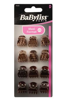 Accessoire coiffure MINI PINCE CLASSIQUE X12 Babyliss