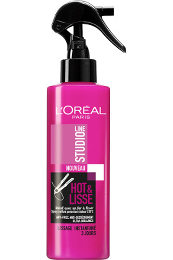 accessoire coiffure l 39 oreal paris studio line spray coiffant hot lisse studio line spray. Black Bedroom Furniture Sets. Home Design Ideas