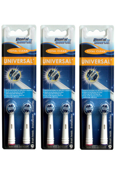 Brossette et canule dentaires TOTAL CLEAN X6 Dental Source