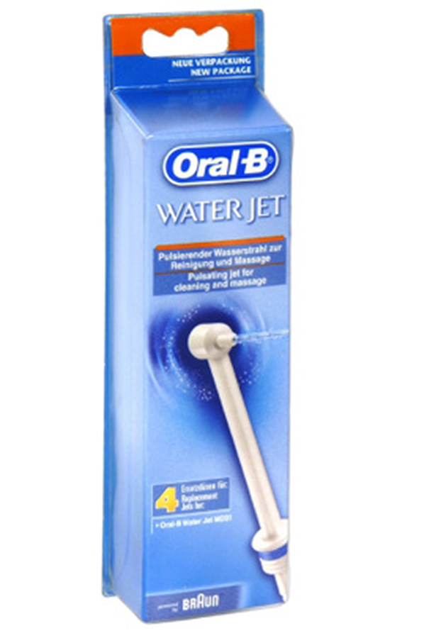 Brossette et canule dentaires oral b canule ed30 1156560 for Porte brossette oral b