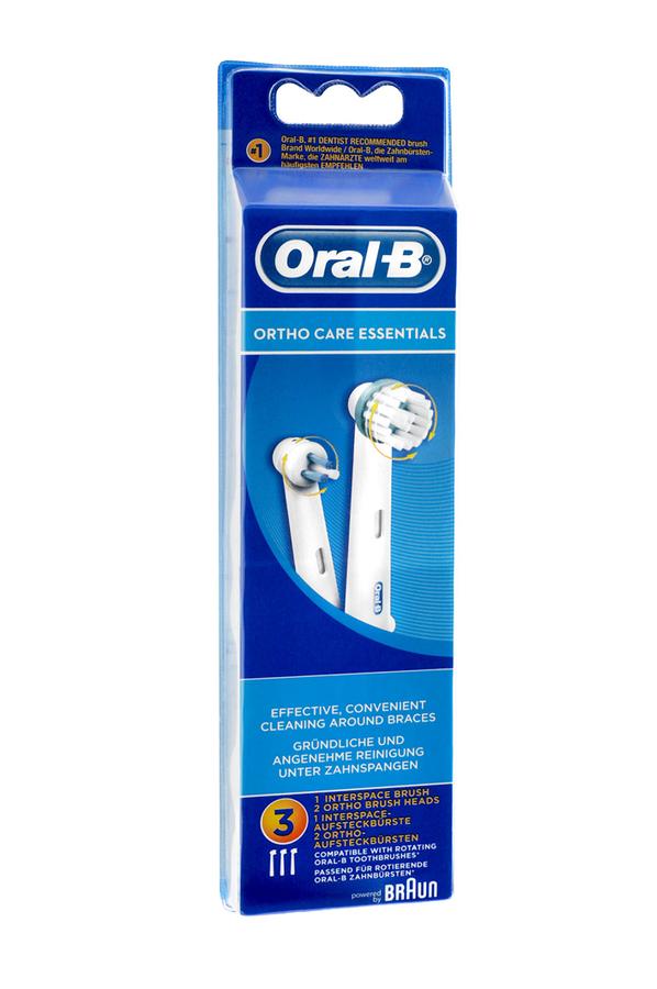 Brossette et canule dentaires oral b kit orthodontique for Porte brossette oral b