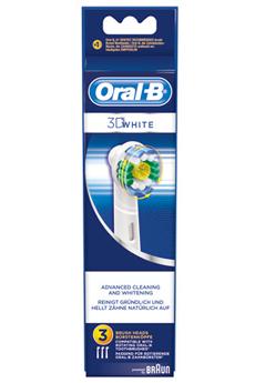 Brossette et canule dentaires BROSSETTE 3D WHITE EB18 X3 Oral B