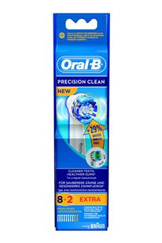 Brossette et canule dentaires PACK PROMO BROSSETTES PRECISION CLEAN 8+2 Oral B