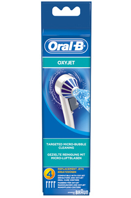 Oral B CANULE OXYJET ED17 X4
