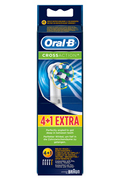 Brossette et canule dentaires Oral B BROSSETTES CROSS ACTION 4+1