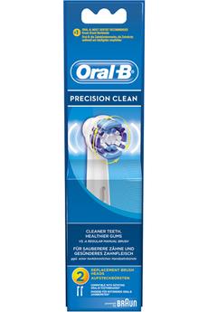 Brossette et canule dentaires BROSSETTE PRECISION CLEAN EB20 X2 Oral B
