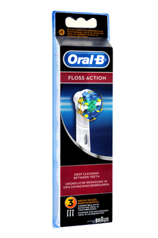 Brossette et canule dentaires BROSSETTE FLOSS ACTION EB25 X3 Oral B