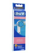 Brossette et canule dentaires Oral B BROSSETTE SENSITIVE CLEAN EB S17 X3