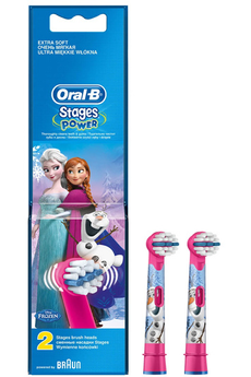 Brossette et canule dentaires Stages Power Reine des Neiges X2 Oral B