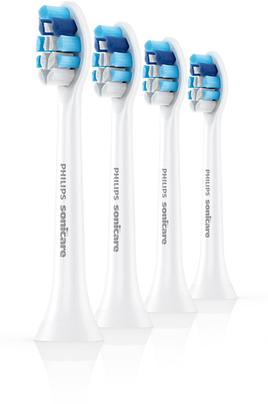 Brossette et canule dentaires Philips Sonicare HX9034/07 Gum health - 4 têtes de brosse