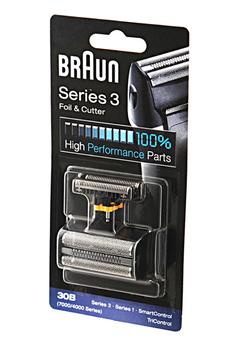 Grille et tête de rasoir GRILLE + BLOC COUTEAUX 30B COMBI-PACK Braun