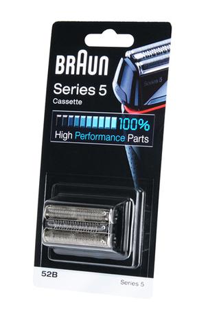 grille et t te de rasoir braun cassette 52b s rie 5. Black Bedroom Furniture Sets. Home Design Ideas