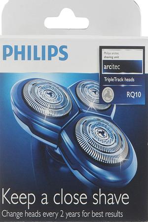 Grille et t te de rasoir philips tete rq10 x3 tete rq10 - Rasoir electrique grille ou tete rotative ...