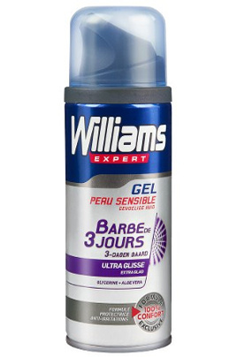 Williams GEL EXPERT BARBE DE 3 JOURS