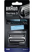 Grille et tête de rasoir Braun Cassette 32B Série 3