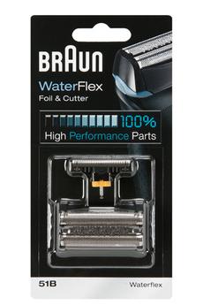 Grille et tête de rasoir GRILLE + BLOC COUTEAUX 51B COMBI PACK Braun