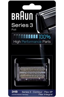 Grille et tête de rasoir Braun GRILLE 31B SERIES 3