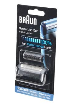 Grille et tête de rasoir Grille + bloc couteaux 10B COMBI-PACK Braun