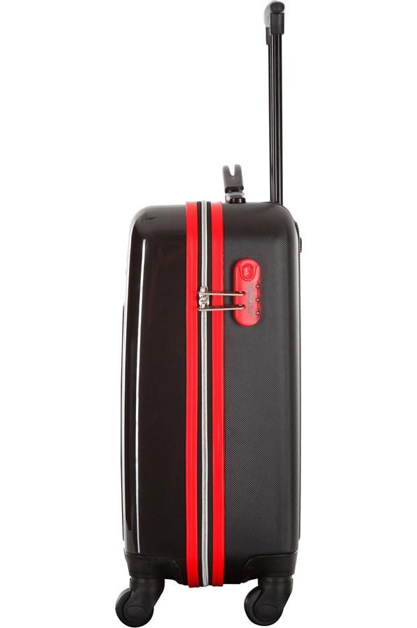 valise cabine size valise cabine 4 roues blessington noir rouge 23161201nr 4209818 darty. Black Bedroom Furniture Sets. Home Design Ideas